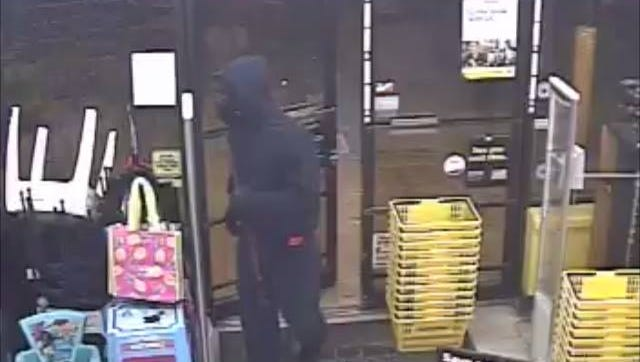 Escambia County deputies are seeking an armed robber who held up a Dollar General on Michigan Avenue on Sept. 6, 2017.