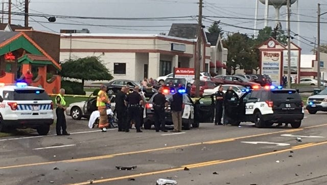 Marco Gomez Jr., 21, of Mansfield died Friday afternoon at OhioHealth Mansfield Hospital, according to the Richland County Coroner's Office. He was a passenger in a police pursuit which ended in a crash on Thursday morning on West Fourth Street.