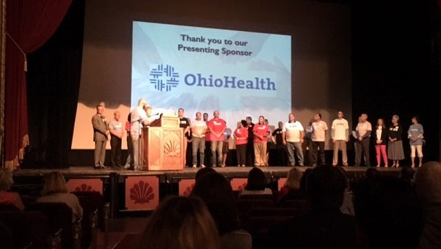 United Way of Richland County kicked off a $1.4 million campaign Tuesday at the Renaissance Theatre.