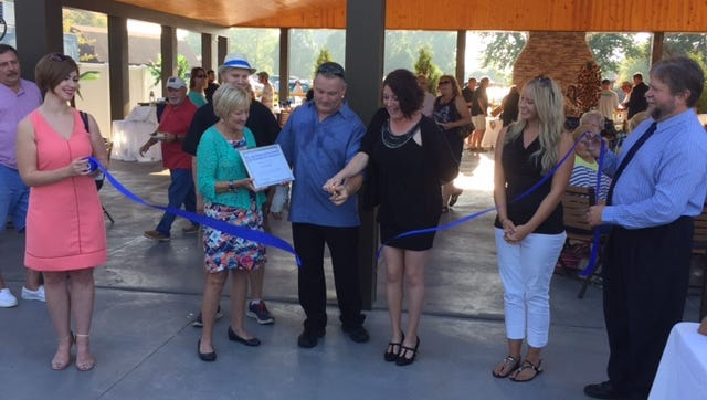The Crow's Nest celebrates the opening of its new pavilion and patio.