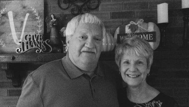 Gary Wayne and Judy