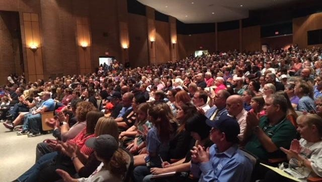 Thousands piled into the Williamstown High School theater in October for an emergency Board of Education meeting regarding mold inspections at the township schools.
