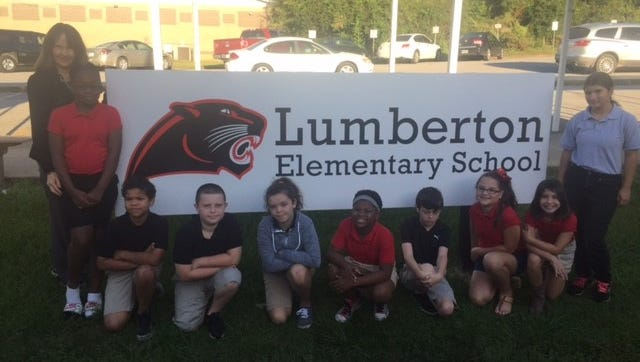 Ten students at Lumberton Elementary School were selected to become part of the Duke University Talent Identification Program.