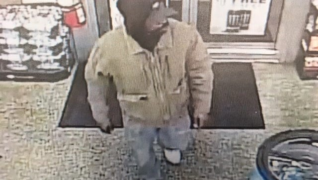 York City Police have released this image of a man suspected in the homicide of an Exxon employee on Tuesday morning during an armed robbery.