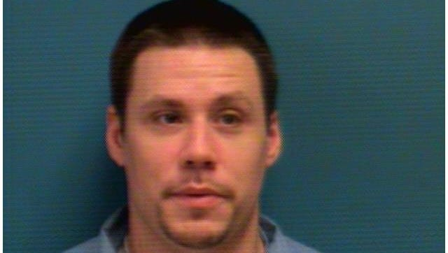 Joseph David DeRosier, 34, of Waite Park was arrested Tuesday on a warrant related to first degree burglary charges.