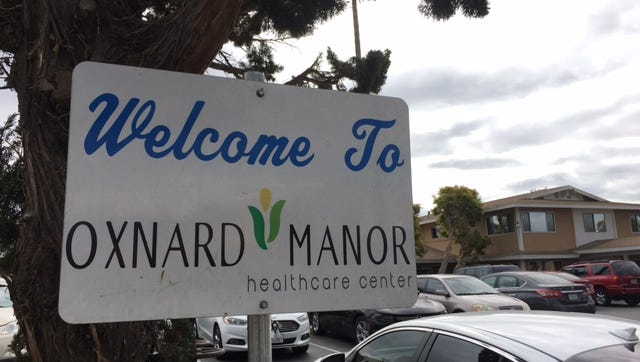 Stock photo. Oxnard Manor Healthcare Center