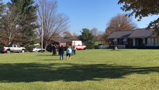 Two people were found dead Wednesday at their home in the 2500 block of Touby Road of suspected carbon monoxide poisoning, according to the Bob Ball, a Richland County Coroner's Office investigator.