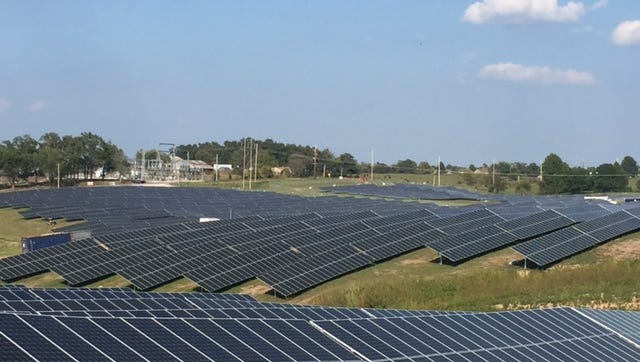 Despite common assumptions that solar and other renewable energy is pricey compared to the old standbys, the solar projects ultimately make power more affordable for the town's residents.