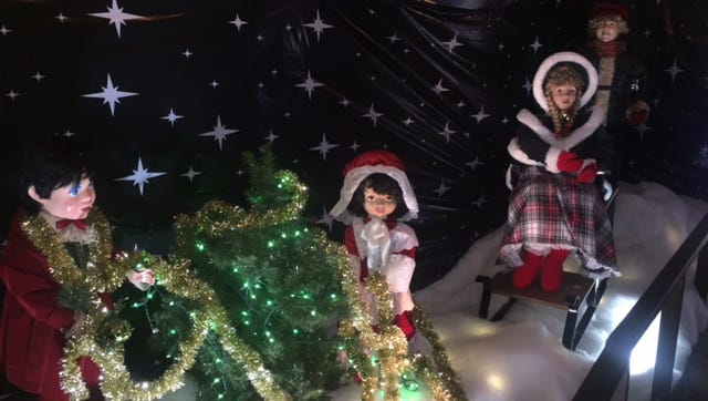 McNaughton's Garden & Christmas Center in Cherry Hill hosts the 2018 Gaudio's G Boys holiday display.