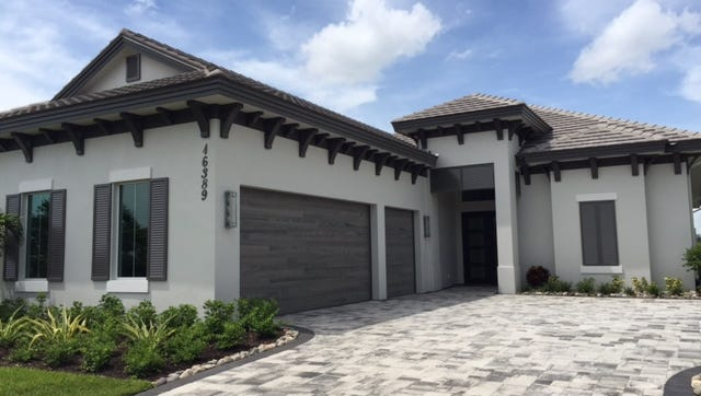 Harbourside's 3,016-square-foot, four-bedroom plus study Villa Roma luxury estate home in Talis Park's Corsica neighborhood.