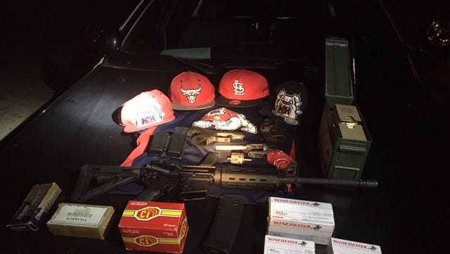 Recovered stolen property from a Visalia home burglary on Dec. 3.