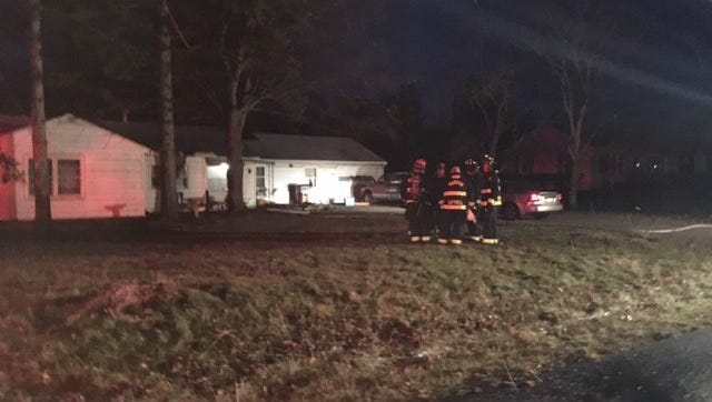 A family of four was displaced about 6 a.m. Thursday at 844 Mayflower Drive after a fire broke out in their utility room. Madison Fire Department with Franklin and Mifflin township fire departments put out the blaze.