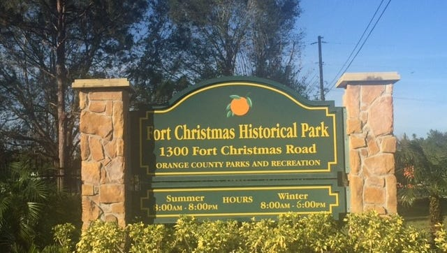 For history buffs, a stop at Fort Christmas Historical Park offers a look at how the community of Christmas was settled and got its name.