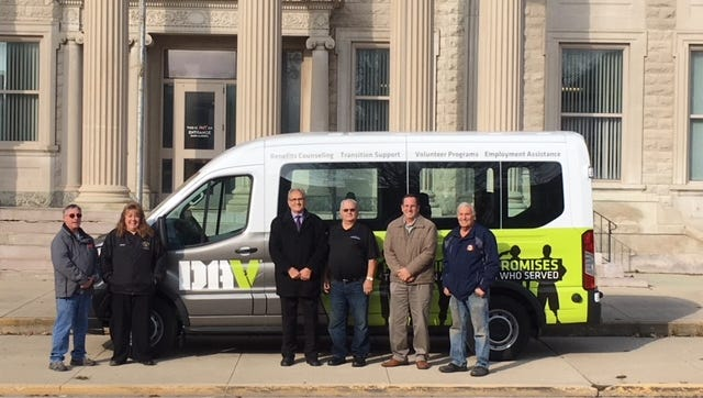 A new van will begin taking veterans from Crawford County to medical in appointments in Cleveland.