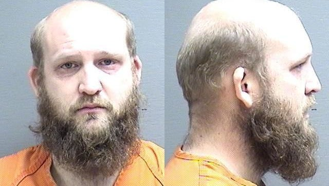 Josh Weldon Porter is accused of choking his girlfriend and putting her in a headlock.