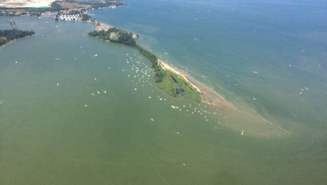 The Bay Point Sandbar, a 68-acre property located at the southeast corner of the Marblehead Peninsula in Sandusky Bay, will be permanently preserved after being acquired by the Western Reserve Land Conservancy.