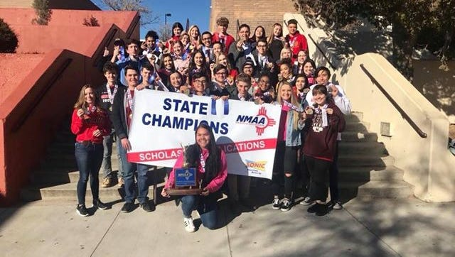 Centennial High School students recently won first in statewide competition for their scholastic publications.