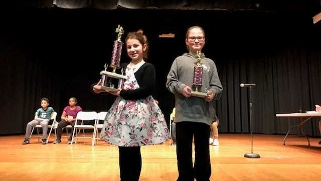 Pictured: Caden Haire and Ella French