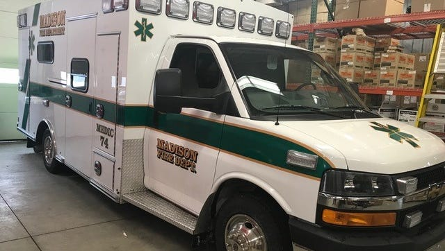The Madison Township Fire Department recently acquired a new $170,000 EMS vehicle, Medic 74, to replace a 2004 vehicle that will be refurbished later this year or early next year.