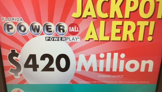Powerball jackpot continues to rise.