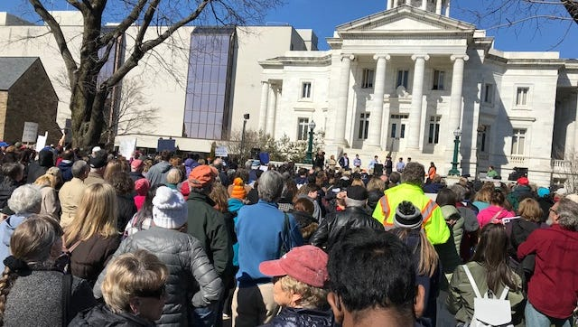 A March For Our Lives Rally was held in Somerville on Saturday.