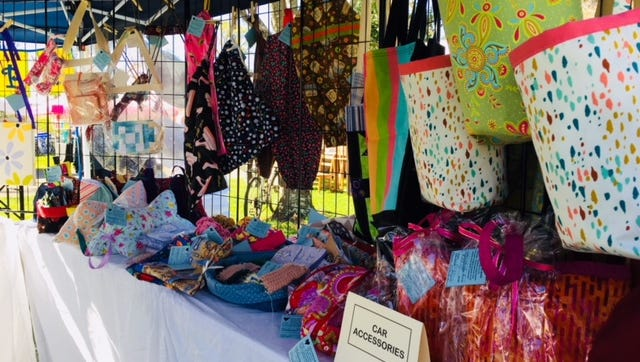 Product display for A Bag for Hope.