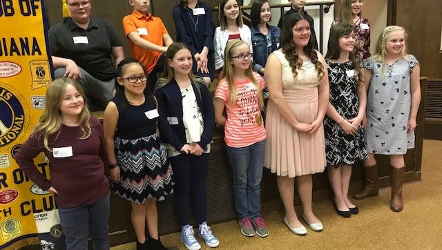 Fifth-graders from Delaware County schools were honored by the . Kiwanis Clubs of Muncie recently as Terrific Kids winners.