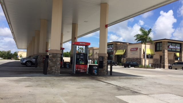 The Lee County Sheriff's Office is investigating a robbery at the RaceTrac gas station on Furlong Street in Bonita Springs.