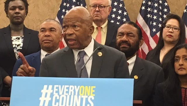 Rep. Elijah Cummings, D-Md., joined others at a press conference last week criticizing the addition of a question about citizenship to the Census.