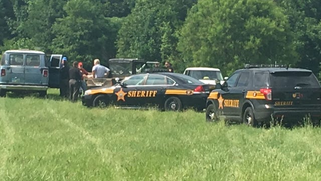 Richland County Sheriff's deputies Friday investigated a report of two men detonating Tannerite in the area of Interstate 71 and Ohio 39.