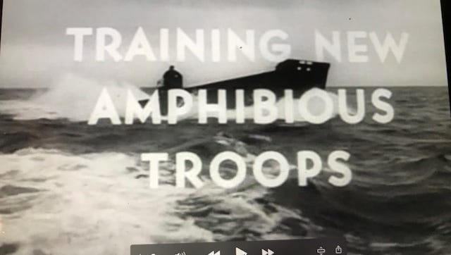 The Camp Gordon Johnston Museum will mark the 74th anniversary of D-Day on June 6 by showing recently discovered footage of training for the invasion on the beaches of Carrabelle.