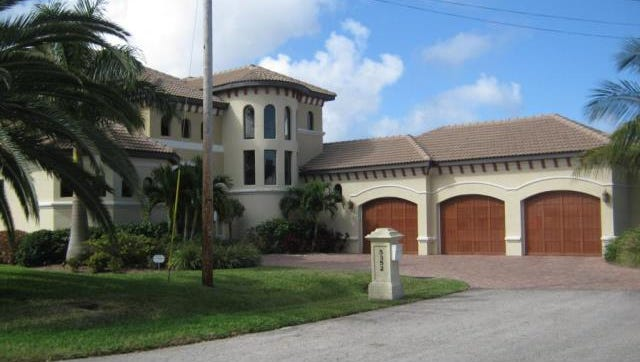 This home at 5352 Malibu Court, Cape Coral, recently sold for more than $1.8 million.