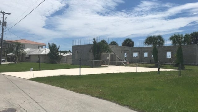 Neighbors in the 1600 block of Thumb Point Drive want the Fort Pierce City Commission to declare this house a nuisance because it has taken the owner more than 13 years to rebuild it after it was damaged in 2004 by hurricanes Frances and Jeanne.