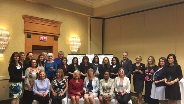 Recipients of the 2018 Annual Health Workplace Recognition Awards