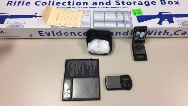 A Ventura man was arrested after a monthlong narcotics-trafficking investigation.
