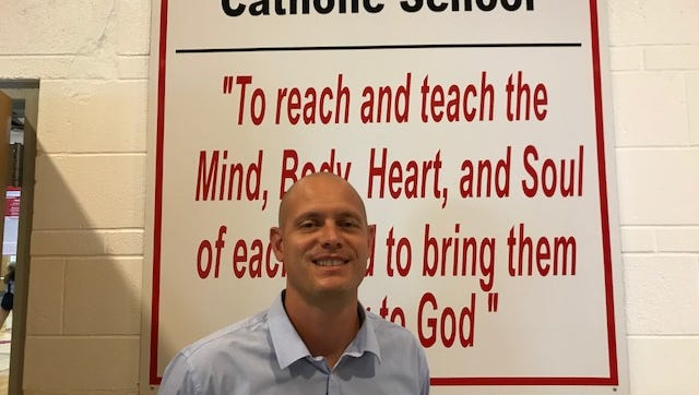 Anthony Fontana is the new Head of School for Bishop Hoffman Catholic Schools. He started July 1.