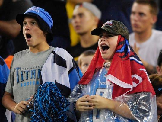 USP NFL: PRESEASON-SAN DIEGO CHARGERS AT TENNESSEE S FBN USA TN