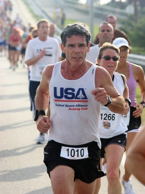 Marty Winkel of Titusville has been a competitor in races on the Space Coast for decades.