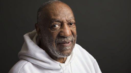 FILE - In this Nov. 18, 2013 file photo, actor-comedian Bill Cosby poses for a portrait in New York. A judge says Cosby and his former attorney should be deposed by lawyers for Janice Dickinson in the model's defamation lawsuit against the embattled comedian. Los Angeles Superior Court Judge Debre Katz Weintraub ruled that Dickinson's lawyers should depose Cosby and attorney Martin Singer before Nov. 25. Dickinson is suing Cosby for defamation over statements last year denying the comedian raped Dickinson in 1982. (Photo by Victoria Will/Invision/AP, File)