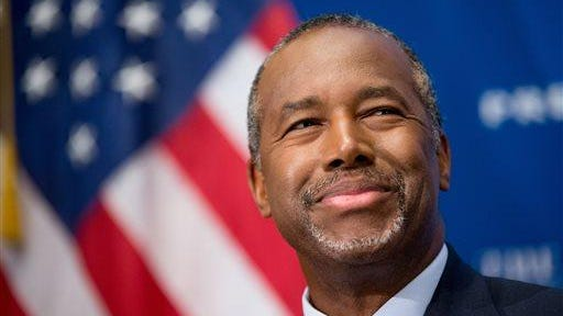 Ben Carson is the most popular presidential candidate in the November version of the MTSU Poll.