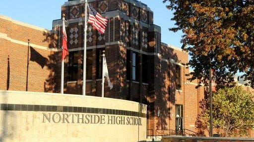 Northside High School in Fort Smith.