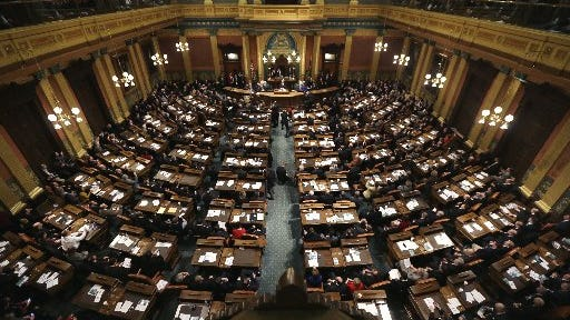 All of Michigan's 148 legislative seats — 38 in the state Senate, and 110 in the state House  — are up for grabs in the state's Nov. 4 election.