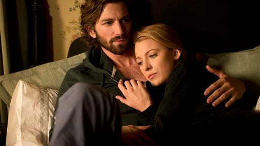 Michiel Huisman, left, and Blake Lively in a scene from The Age of Adaline.