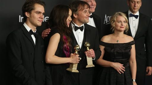 """Richard Linklater and Cathleen Sutherland, who both worked on the film """"Boyhood,"""" are judges in the film contest."""