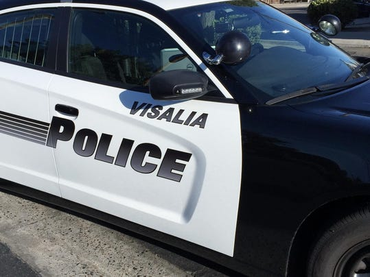 Visalia police car