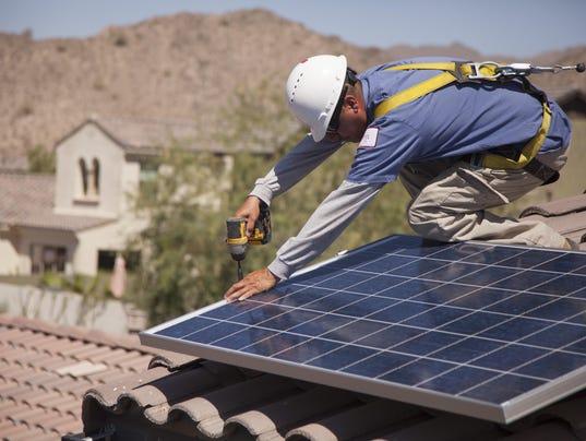 Solar panel fees