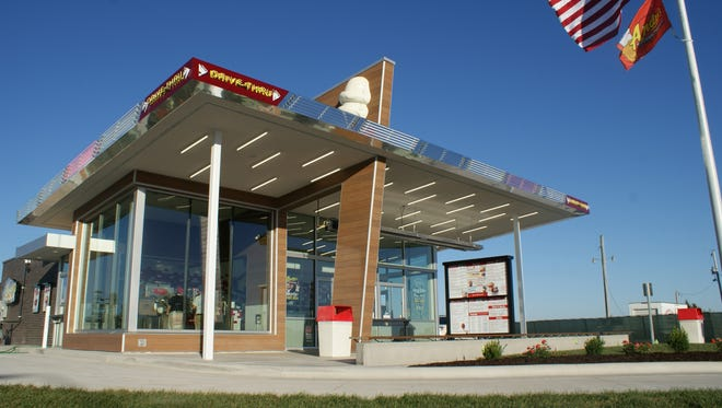 Andy's Frozen Custard opened its sixth Springfield location Wednesday. The store is located at 3830 S. Glenstone Ave.