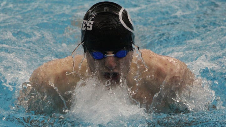 Farmington second to Adams at fast-paced OAA Red Division swim finals