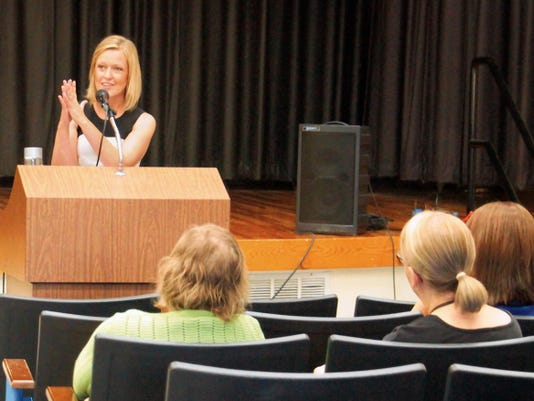 Children, Youth and Families Department Cabinet Secretary Monique Jacobson spoke about her new strategic plan for the agency at a conference on Wednesday morning.