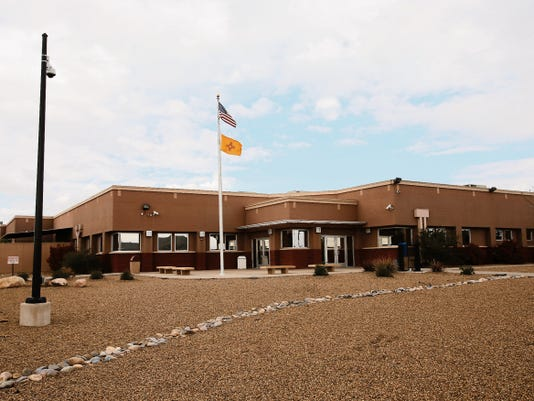 The San Juan County Adult Detention Center as seen in April in Farmington.
